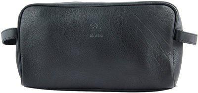 Kara Leather Wash Kit Travel Toiletry Kit(Brown)