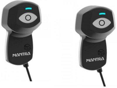 MANTRA Single Iris Scanner for Ayushman Bharat Scheme V2 USB Biometric Device (pack of 2) Scanner(Black)