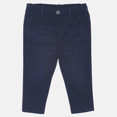 MINI KLUB Regular Fit Boys Dark Blue Trousers