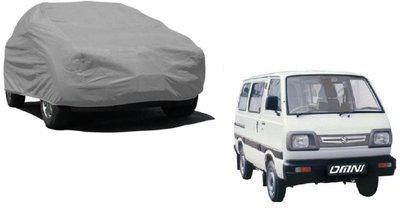 AMICO Car Cover For Maruti Suzuki Omni (Without Mirror Pockets)(Grey)