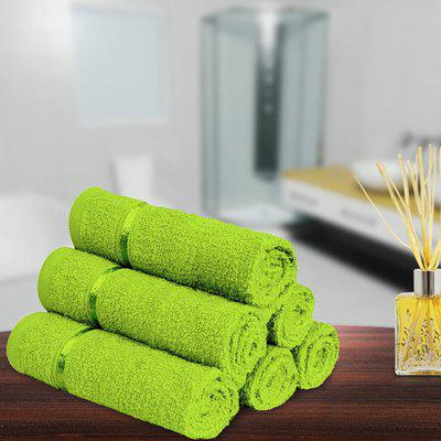 North field Cotton 500 GSM Face Towel(Pack of 6)
