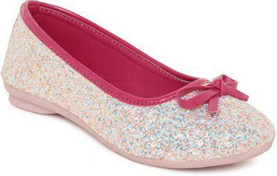 Disney Girls Slip on Ballerinas(Pink)