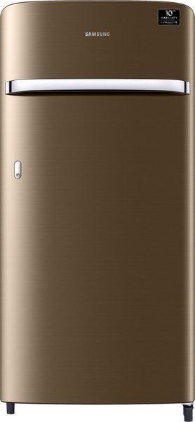Samsung 198 L Direct Cool Single Door 3 Star (2020) Refrigerator(Luxe Gold, RR21T2G2YDU/HL)