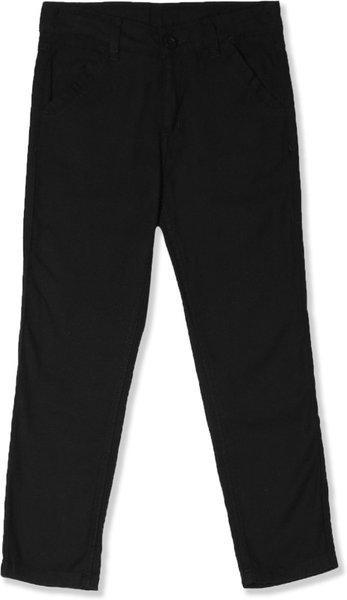 Cherokee Regular Fit Men Black Trousers