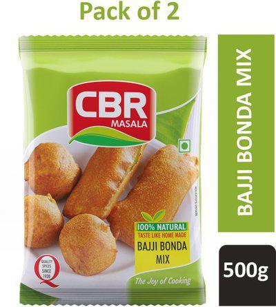 CBR 500g Bajji and Bonda Mix Powder (Pack of 2)(2 x 0.5 kg)