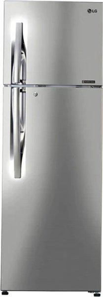 LG 284 L Frost Free Double Door 3 Star (2020) Convertible Refrigerator(Shiny Steel, GL-T302RPZ3)