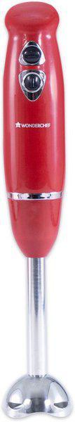WONDERCHEF Crimson Edge 400 W Hand Blender(Red)