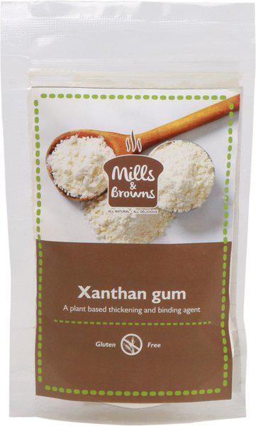 Mills & Browns All Natural and Delicious Gluten Free Xanthan Gum Powder (75gm) Self Rising Flour Powder(75 g)