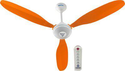 Superfan SuperX1 1200 mm 3 Blade Ceiling Fan(Orange, Pack of 1)