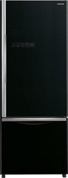 Hitachi 466 L Frost Free Double Door Inverter Technology Star (2019) Convertible Refrigerator(Black, R-B500PND6-GBK)