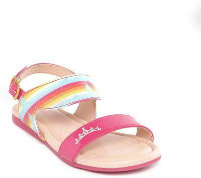 Disney Girls Sling Back Strappy Sandals(Pink)