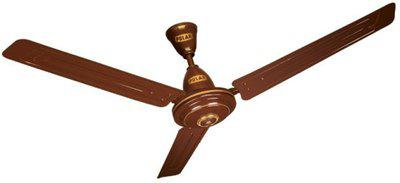 Polar MEGAMITE 1200 mm 3 Blade Ceiling Fan(BROWN, Pack of 1)