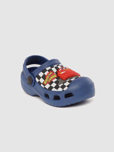 Disney Boys Velcro Clogs(Blue)