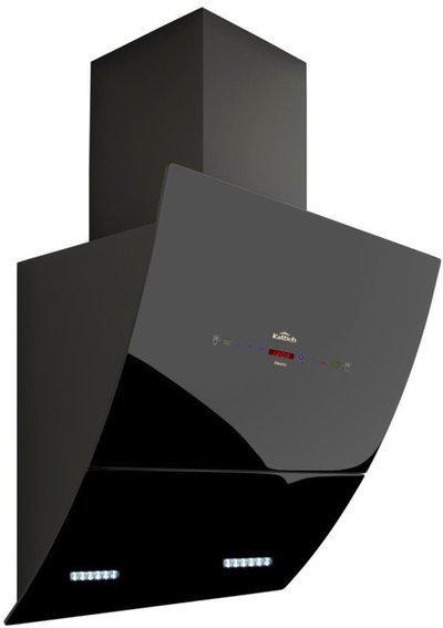 Kattich Merc 60 Auto Clean Wall Mounted Chimney(Black 1350 CMH)
