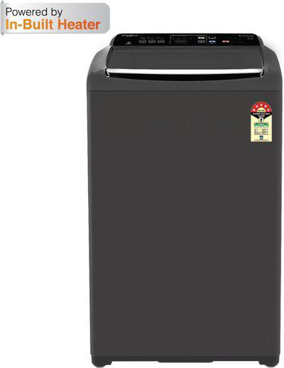 Whirlpool 6.5 kg 5 Star, Inbuilt Heater Fully Automatic Top Load with In-built Heater Grey(Stainwash Ultra (N) 6.5 GREY 10 YMW)