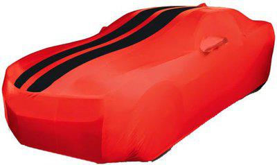 Coverwell Car Cover For Nissan Evalia(Red, Black)