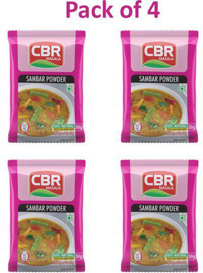 CBR 50g Sambhar Masala Powder Pack of 4(4 x 50 g)