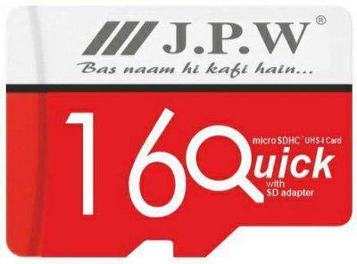 JPW Series-9 16 GB SD Card Class 10 77 MB/s Memory Card
