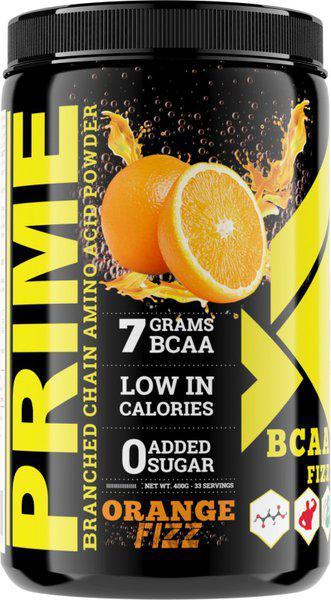 Bigflex Prime BCAA Orange Fizz(400 Gm) Branched Chain Amino Acids BCAA(400 g, Orange Fizz)