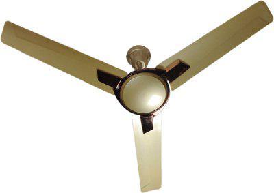 Khaitan Dezire HS Metallic Sun Shine Gold 1200 mm Anti Dust 3 Blade Ceiling Fan(Metallic Sun Shine Gold, Pack of 1)
