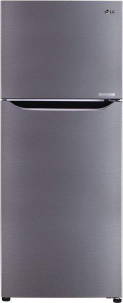 LG 260 L Frost Free Double Door 2 Star (2020) Refrigerator(Shiny Steel, GL-C292SPZU)
