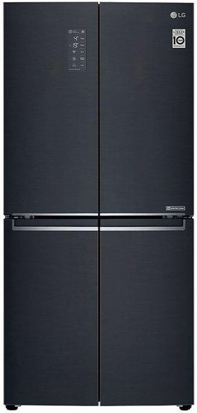 LG 594 L Frost Free Side by Side Inverter Technology Star Refrigerator(Matte Black, GC-B22FTQPL)