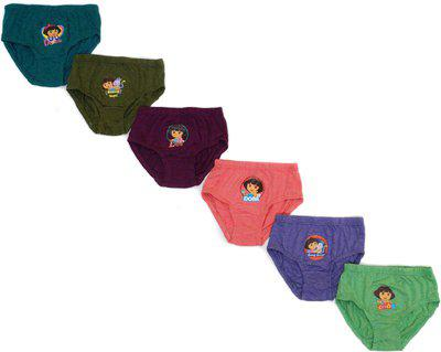 Dora Panty For Girls(Multicolor, Pack of 6)