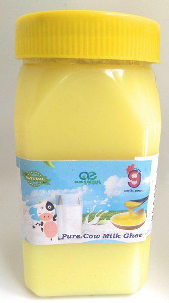 99Auth 400 mL Organic Genuine Pure Natural Desi Ghee. 400 ml Plastic Bottle