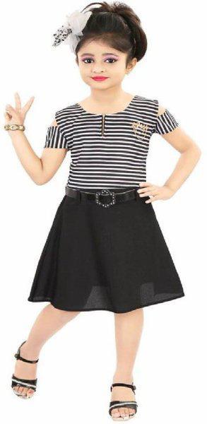 Gkidz Girls Party(Festive) Dress Belt(Black)