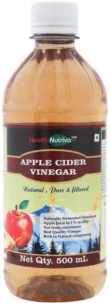 HealthNutriva Apple Cider Vinegar | Raw,Filtered,Undiluted Vinegar(500 ml)