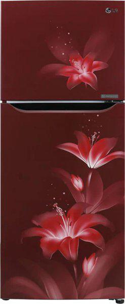 LG 260 L Frost Free Double Door 2 Star (2020) Convertible Refrigerator(Purple Glow, GL-T292SRGY)
