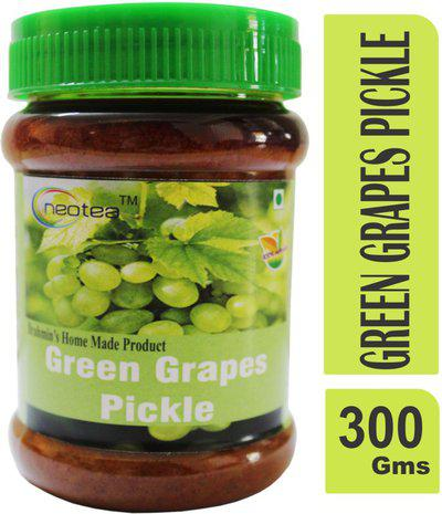 Neotea Green Grape Pickle 300 gm Dry Fruit Pickle(300 g)