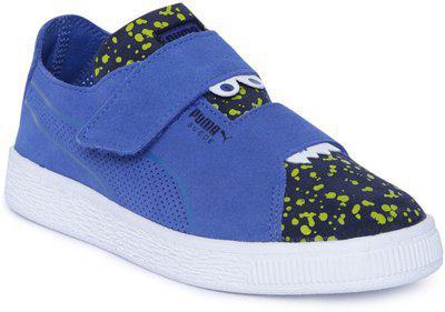 Puma Boys Velcro Sneakers(Blue)