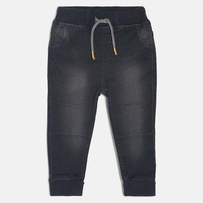 Mini Klub Regular Baby Boys Black Jeans