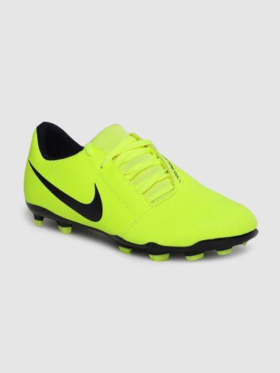 Nike Boys & Girls Lace Football Shoes(Green)