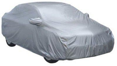 Car Bazaar Car Cover For Renault Scala (With Mirror Pockets)(Silver)