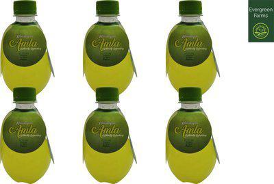 Evergreen Farms Natural Refreshing Amla Juice(4 x 0.25 L)