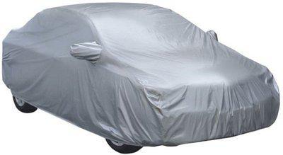 Car Bazaar Car Cover For Fiat Uno (With Mirror Pockets)(Silver)