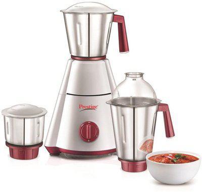 Prestige Griender Nakshatra Plus 750 Mixer Grinder(Multicolor, 3 Jars)