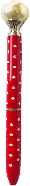 DALUCI Stylish Big Pearl head Colors Ballpoint Ball Pen