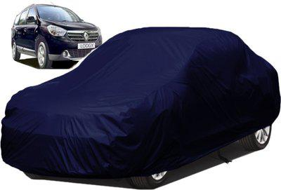 dzirejunction Car Cover For Renault Lodgy (Without Mirror Pockets)(Blue)