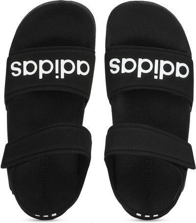 ADIDAS Boys & Girls Velcro Sports Sandals(Black)