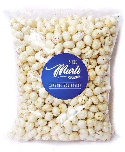 Shree Murli Regular Lotus Seed Pop/Gorgon Nut Puffed Kernels (Phool Makhana)(250 g)