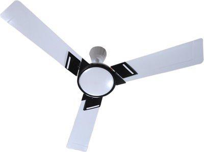 Khaitan Emor HS Metallic Pearl White 1200 mm Energy Saving 3 Blade Ceiling Fan(Metallic Pearl White, Pack of 1)