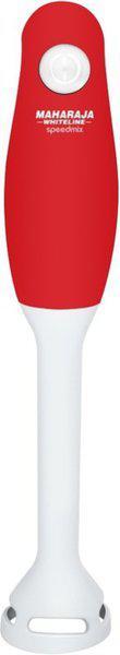MAHARAJA WHITELINE MaharajaWhiteline Speedmix HB-118 Hand Blender (Red, White) 130 W Hand Blender(Red, White)
