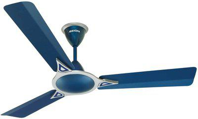 SEION ULTIMATE 1200 mm 3 Blade Ceiling Fan(Indigo Blue, Pack of 1)