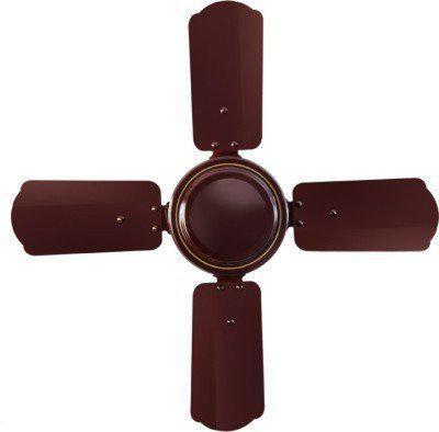 Sameer Gati 24 600 mm 4 Blade Ceiling Fan(Brown, Pack of 1)