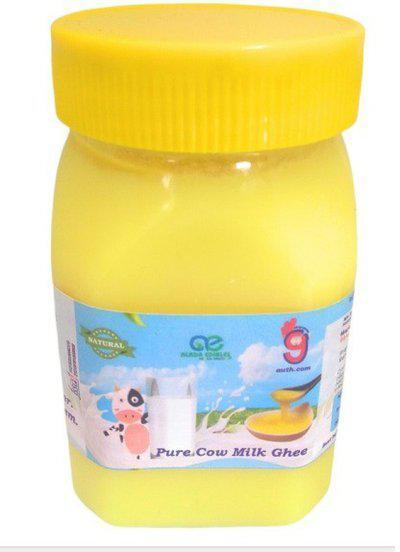 99Auth 250 mL Organic Genuine Pure Natural Desi Ghee. 250 ml Plastic Bottle