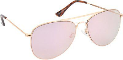 Lee Cooper Aviator Sunglasses(Pink)