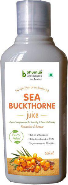 Bhumija Lifesciences Sea Buckthorne Juice 500ml(500 ml)